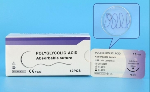 China Polyglycolic Acid Rapid Sutures/ Sterile Suture , Surgical Rapid, Polyglycolic Acid 2 0,3 0,4 0,5 0 on sale