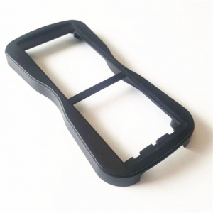 China Plastic Injection Molded Rubber Parts on sale