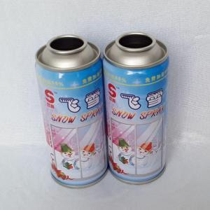 China 250ml Snow Spray Can on sale