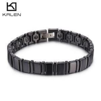 Ceramic Bracelet Watch Band Strap Color Black