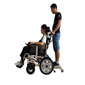 China Electric Powered Wheelchair with Headrest on sale
