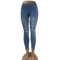 China Women's Ripped Jeans on sale
