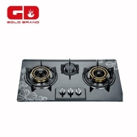 China Gas Hob Cooking Hobs 3 Burners Stainless Steel Built-in Gas Stove on sale