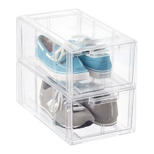 China Drawer Acrylic Shoes Box on sale