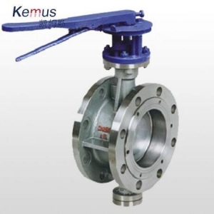 China Butterfly Valve Flange Type on sale