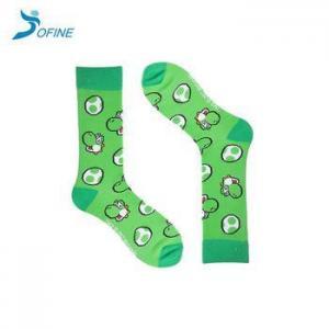 China Amazon Hot Sale Kids School Colorful Cotton Fuzzy Novelty Socks on sale
