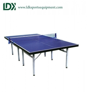 China Regulation foldable ping pong table custom full size on sale