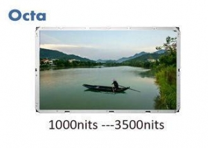 China Large High Brightness Sunlight Readable LCD Monitor 82 Inch Commercial Advertising on sale