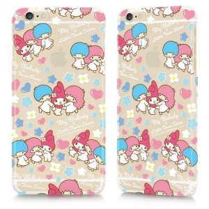 China My Melody x Little Twins Stars 40 anniversary Back Cover for iPhone 6 - Bubble Series on sale