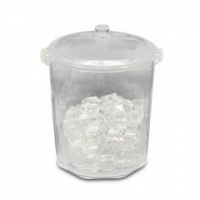 China Clear acrylic ice bucket with handle on sale