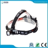 China JFH04B XPE Aluminum 1*18650/3*AAA headlamp for sale