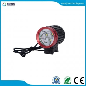 China JAHL-D3 3X CREE XM-L T6 LED 4000LM Cycling Bike Bicycle Front Light on sale