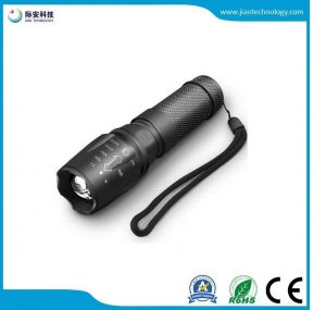 China JFF07 Flashlight kits AAA battery zoom rechargeable hunting multi-function led torch flashlight on sale