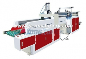 China Bag Making Machinery Line Dfhq Full-Automatic Shopping Bag Making Machine on sale