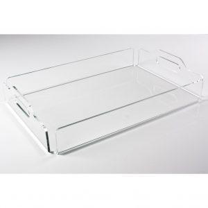 China Acrylic tray Acrylic serving tray on sale