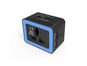 China Electronic Products 2.4A Travel Adapter,LURICO Universal International All-in-One on sale