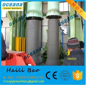 China High Quality Vertical Vibration casting concrete pipe making machine produce box culverts on sale