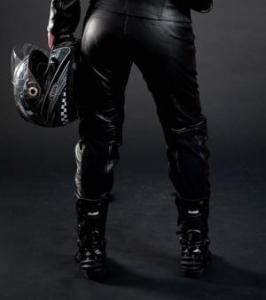 China MC Pants Alive Lady Leather Pant on sale