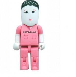 China customed design usb people flash drive on sale