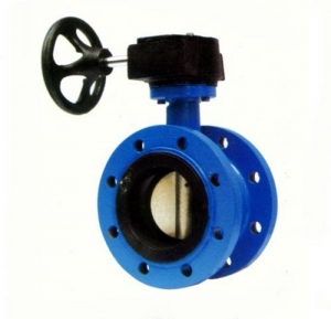 China Butterfly Valve Double Flanged Butterfly Valve on sale