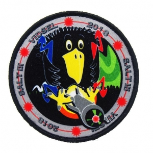 China Colorful Bird Custom Label With Velcro Backing Digital Printing Patches on sale