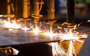 China din cast steel angle type choke valve on sale