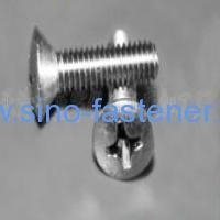 China Fasteners CROSS RECESSED OVAL COUNTERSUNK HEAD MACHINE SCREWS IFI I-17(F-19) on sale