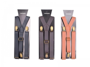 China Suspender Leather Suspenders For Men on sale