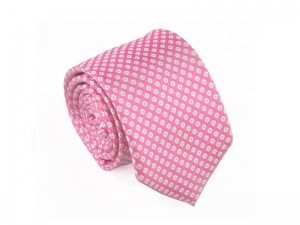 China Necktie Pink Cheap Silk Ties on sale