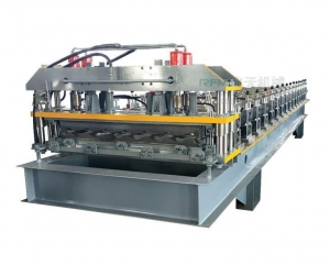 China Glazed Step Tile Roll forming Machine on sale