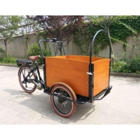 China Electric Lithium Battery Cargo bike with pedal on sale