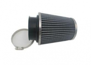 China 3 inch Air Filter 76mm Air Intake Height High Flow Cone Cold Performance on sale