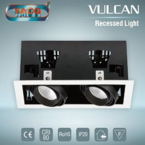 China Most popular indoor interior online shopping COB LED recessed downlight on sale