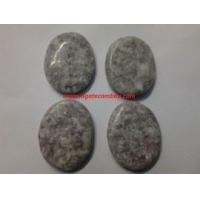 Agate Arrowheads Lepidolite Plam Stone