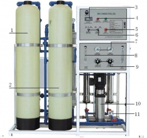 China Industrial Reverse Osmosis System (450LPH) on sale