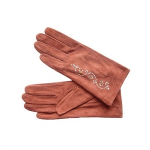 China Full Guantlet Leather Gloves on sale