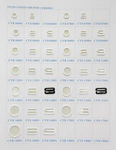 China Nylon Coated Ring Slides and Hooks on sale