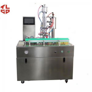 China R410a Refrigerant Filling Machine 600-1000cans /Hr With Air Cpmpressor Drive supplier