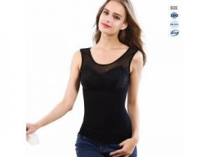 China Fashion sexy Vest Products Seamless manufactere custom high impact women lace body shaper on sale