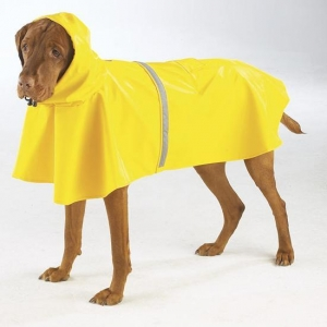 China Dog products Rain Jacket with Reflective Strip on sale
