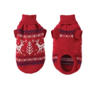 Dog products Dog Sweater Holiday Red