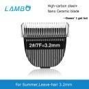 China 3.2mm leave-hair blade for dog grooming clipper on sale