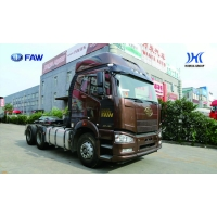 China Tractor Head FAW 6 4 TRACTOR HEAD TRANSPORTATION SEMI-TRAILER OVER DRIVE (O/D) 460PS on sale