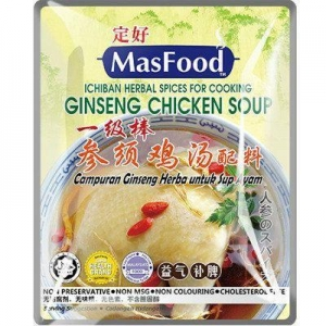 China MasFood Ginseng Chicken Soup Spices on sale