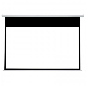 China Electric Drop Down Movie Screen Cheap HD Projector Screen RSC64 on sale