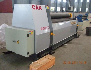 China Plate Bending Machine Mechanical 3 Roller Plate Bending Machine on sale