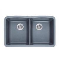 Double Sink Undermount Quartz Kitchen Sink