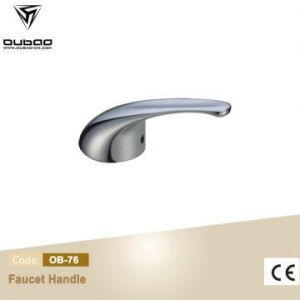 China Die Casting Faucet Handle Polished Chrome Mixer Lever on sale