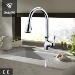 China Pull Out Kitchen Sink Water Mixer Tap on sale