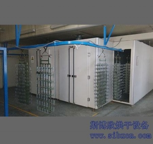 China SIBX-SDXG6000 Surface treatment suspension drying line/drying conveyor ovens on sale